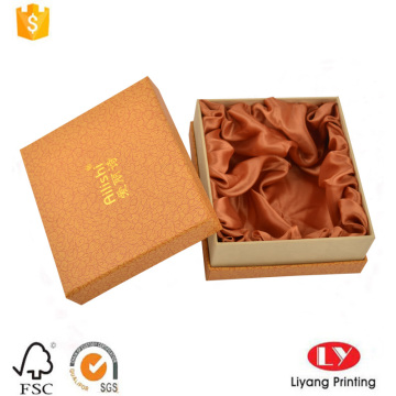 Printed belt cardboard packaging box with lid