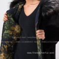 Winter Reversible Mink Fur Coat For Women