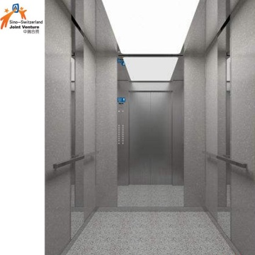 Safe Commercial Elevator For Shopping Mall Load 400-1600kg