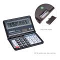 OSALO Office Electronic Calculator Scientifice Caculator Folding Desktop Battery & Solar Calculator for School Student Business