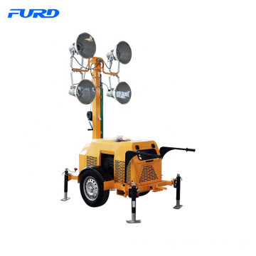 Industrial Portable Light Tower with 4 Lamps