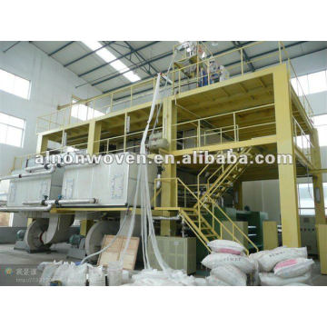 double beam spunbond production line