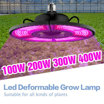 Plants Grow Light 100W 200W 300W 400W Phyto Lamp E27 Full Spectrum LED Seedling Fito Lights LED Flower Seed Growing Tent 220V