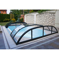 Glass Four Season Retractable Swimming Pool Roof Cover
