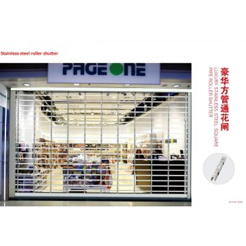Ụlọ ahịa Transparent Commercial Shop Rolling Shutter Door