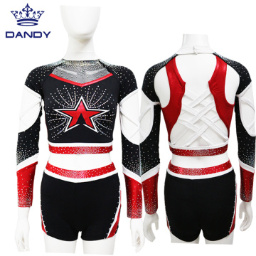 Red mystique all star cheer costume