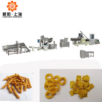 Fried bugles machine line bugles process machine