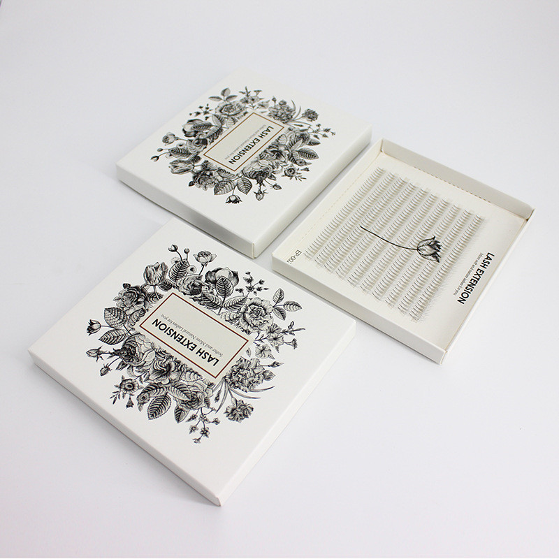 3D 400 fans black false eyelashes extension