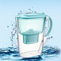 2.6L water filter pitcher