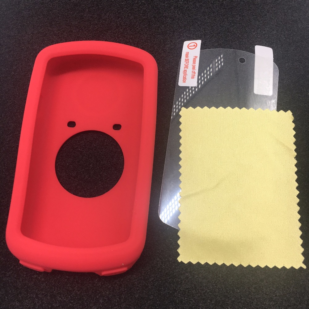Bicycle Silicone Rubber shockproof Protect Cover Case For Garmin Edge 1000 1030 Bike Cycling GPS Computer Accessories