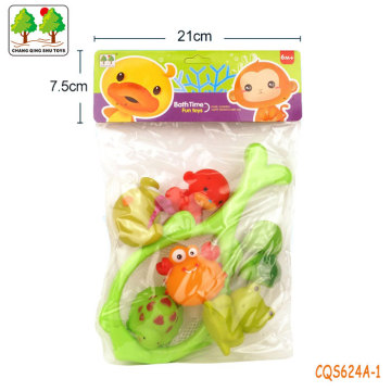 CQS624A-1 CQS soft toys 6PCS and fishing net