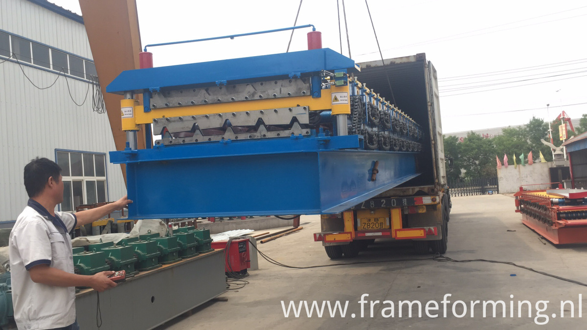 double layer roofing machine (2)