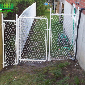 PVC Coated Used Chain Link Fence Gates