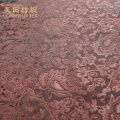 beautiful famous brand 100% polyester dobby fabric