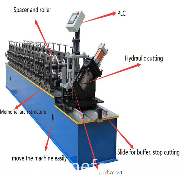 C U Channel Keel Cold Forming Machine1