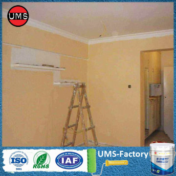 Latex emulsion wall paint for wall