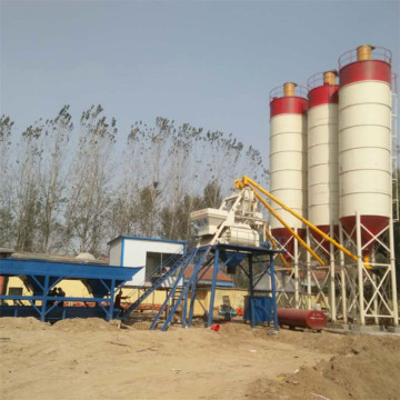 HZS25 Stationary Concrete Batching Plant