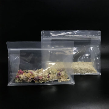 8- Side Sealing Bag Gusset Flat Bottom Packaging Oat Bag