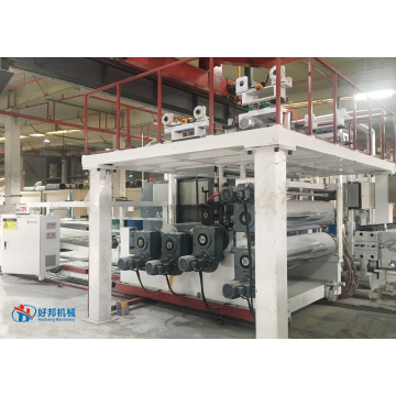 ORIGINAL SPC FLOOR PRODUCTION MACHINE PLANT