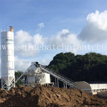 60 Fixed Mobile Concrete Batching Plant