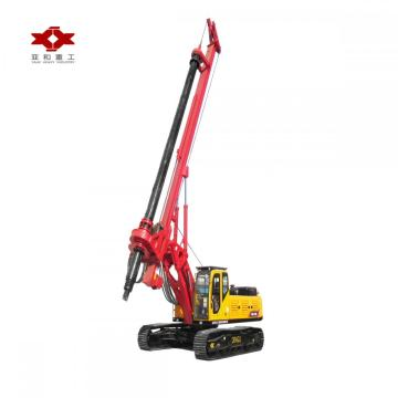 Mini diesel water well rotary drilling rig