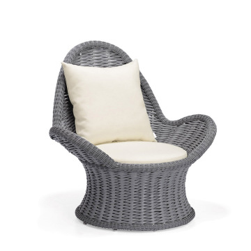 Polyester Rattan Patio Furniture Loveseats