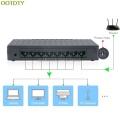8-Port 10/100Mbps Ethernet Network Switch HUB Desktop Mini Fast LAN Switcher Adapter Jy23 19 Dropship