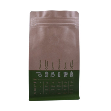 custom compostable packaging bags for tea leaft