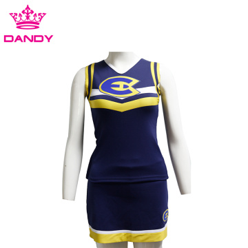Custom classic cheer shell and skirt