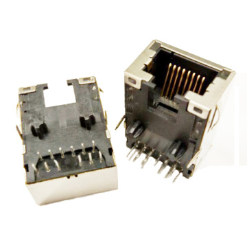 RJ45 1X1 PORT WITH TRANSFORMERS