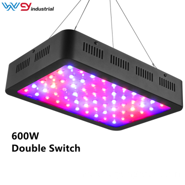 led grow light double switch 600W