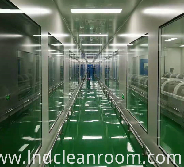 Clean room of pharmaceutical factory