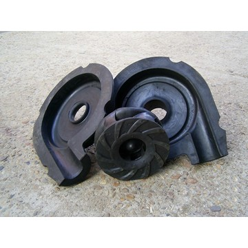 Large Quantity  Natural rubber pump parts