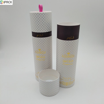 Custom Paper Gift Packaging Ruler Tube Box