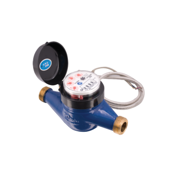 Direct Reading Electronic Water Meter With Brass Body