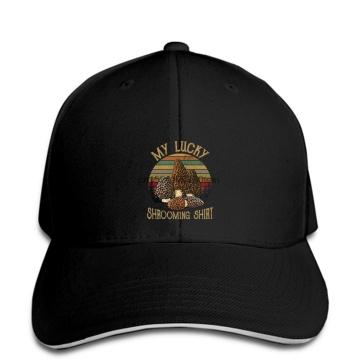 Baseball Cap Morel Mushroom My Lucky Shromming snapback hat Peaked