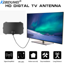 Kebidumei 200 Mile Range Indoor Antenna TV Digital HD Skywire Digital HDTV 1080p 4K Antenna Digital Indoor HDTV TV Stick Home