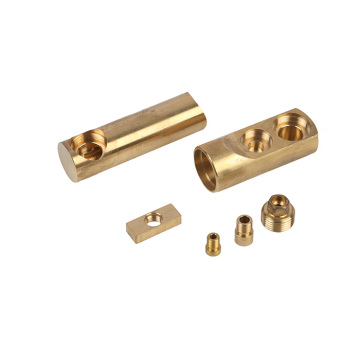 CNC Brass soidered connector