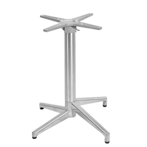 Heigh low stainless steel table base