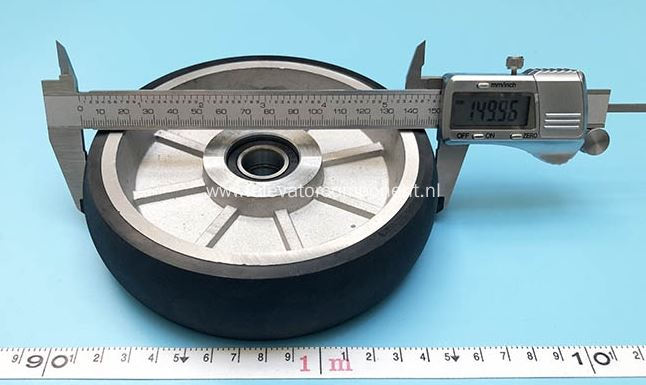 RG150 Guide Shoe Roller for KONE Elevators 150*38/6003