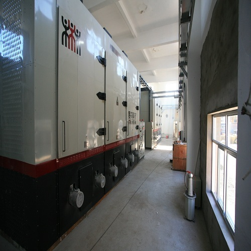 High voltage electric industrial boiler