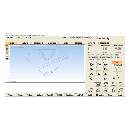 WATERJET CNC CONTROLLER & SOFTWARE