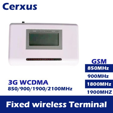3G Fixed Wireless Terminal GSM WCDMA 850/1900/2100MHz Wireless Access Platform PSTN Dialer support alarm system PABX Caller ID
