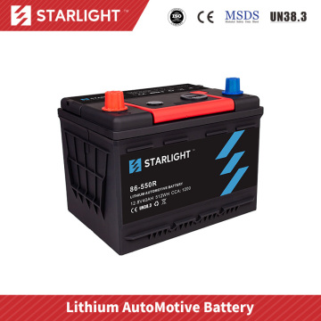 12V 86-550R Lithium Battery For Car Audio
