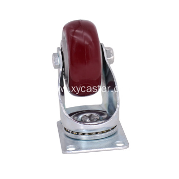 Red 3 Inch swivel  Caster Wheel