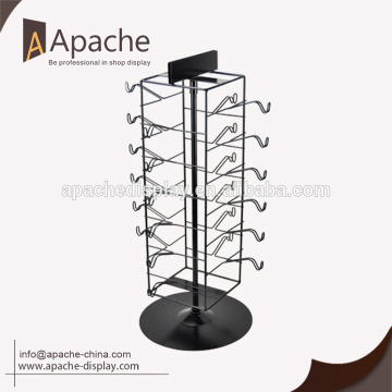 Different design Chinese suppliers rotating glasses display stand