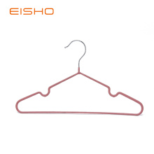 EISHO PVC Coated Child Coat Metal Wire Hanger