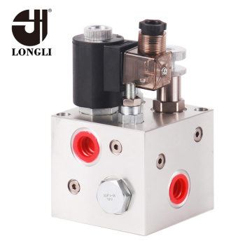 Custom Hydraulic Manifold Block with Cartridge Valve