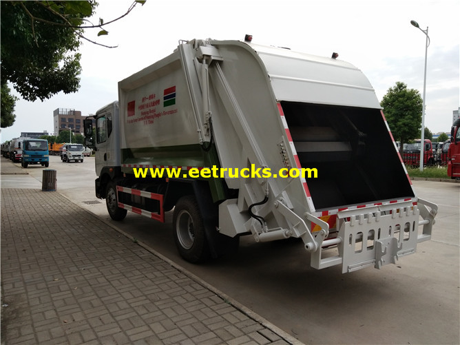 12000 Litres Waste Compactor Vehicles