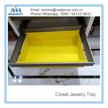 Closet Custom jewerly tray